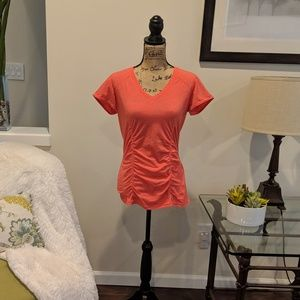 Zella Short Sleeved Top Size Small